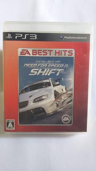 Need For Speed Shift Japonês - Mídia Física - Ps3