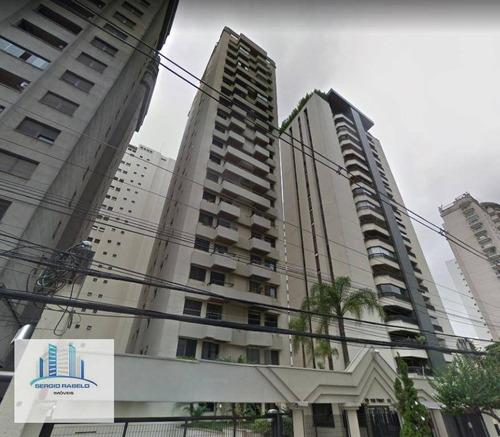 Imagem 1 de 23 de Apartamento Com 1 Dormitório Para Alugar, 42 M² Por R$ 2.200,00/mês - Moema - São Paulo/sp - Ap2042