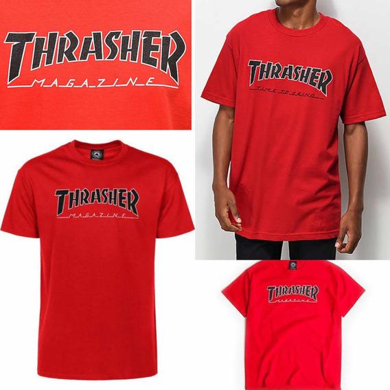 Playera Thrasher Original Talla S -m -l Nuevas