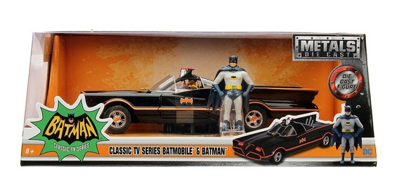 Vehiculo Batimovil Clásico 1966 Con Batman