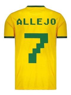 Camisa Super Bolla Brasil Torcedor 2018 7 Allejo