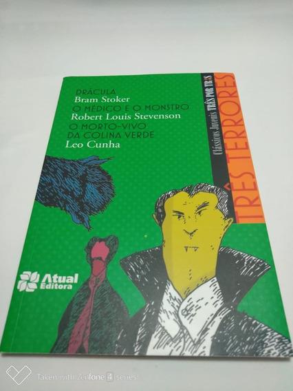 Livro Três Terrores De Leo Cunha