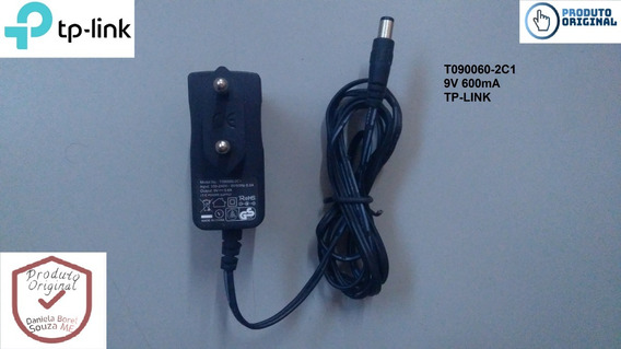 Kit 10 Fonte Tp-link 9v 0.6a Ac/dc Bivolt T0900060-2c1