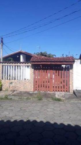 Casa A 250 Mts Do Mar No Suarão Em Itanhaém - 5853   Npc