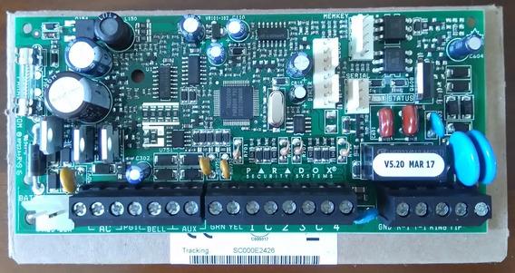 Sp4000 + K10h - Central De Alarme 4 Zd + Teclado, Paradox