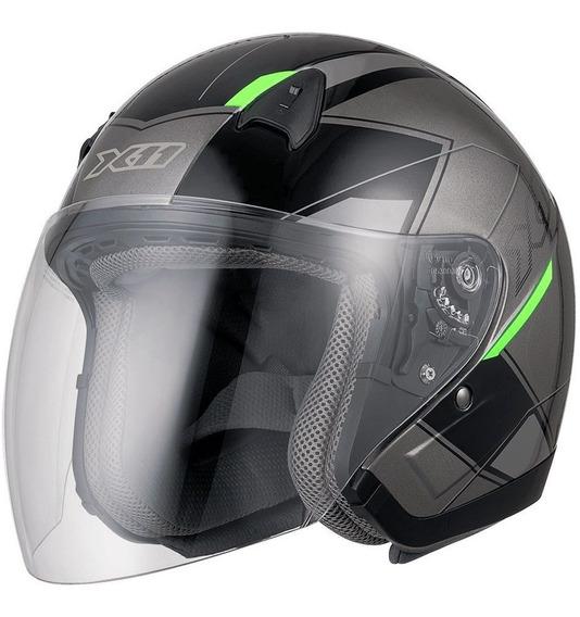 Capacete Motociclista X11 Freedom Metric Street Moto A Vista