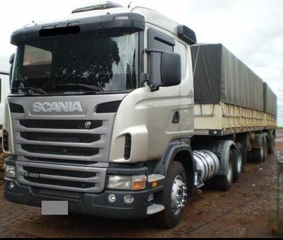 Scania G 420 Ano 2012 Engatado (ler Descriçao)