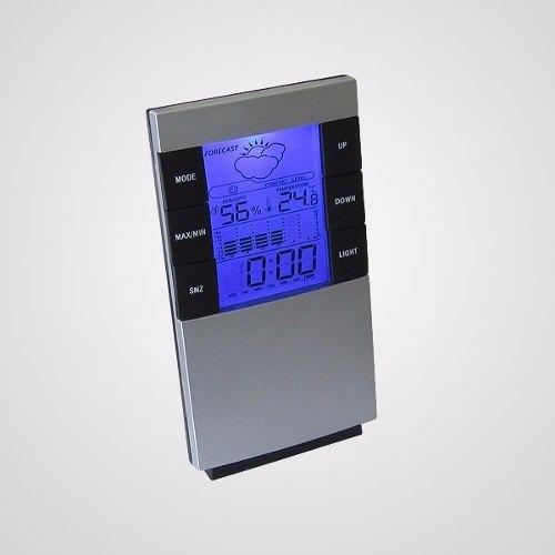 Reloj Multifuncion Alarma Calendario Clima Gibsons
