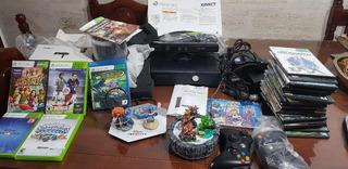 Xbox 360 4gb Con Kinect Y Mas De 50 Juegos 2 Joystick2infin