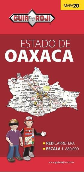 Mapa Bolsillo Estado De Oaxaca