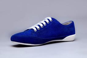 Zapatillas Hombre Espectacular Sneaker De Cuero Envio Gratis