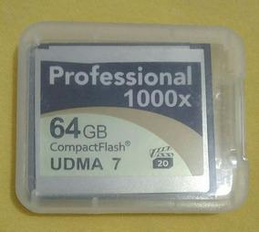 Cartão De Memoria Lexar 64gb Professional 1000x Udma 7