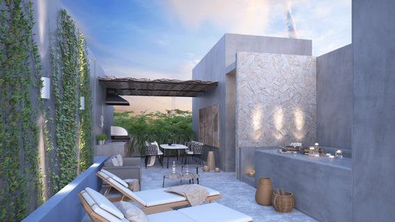 Casa Ph De Lujo En Venta, Ubicado En Tulum Quintana Roo, Mar Y Miel Modelo Mito