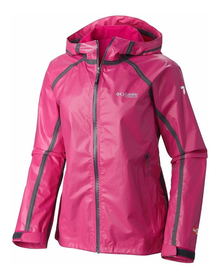 Campera Columbia Outdry Impermeable Mujer Caba Localº