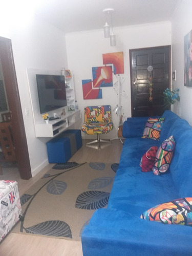 Apartamento No Bairro Centro Em Sao Bernardo Do Campo Com 02 Dormitorios - V-30443