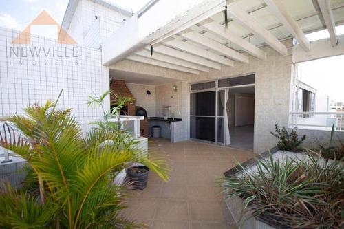 Cobertura Com 5 Quartos À Venda, 424 M² Por R$ 1.350.000 - Boa Viagem - Recife/pe - Co0012