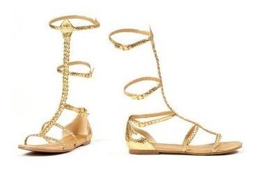 Sandalias Zapatos Gladiadora Egipicias Romanas Para Damas 1