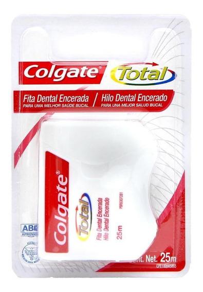 Fita Dental Colgate Total Encerada 25m