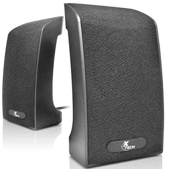 Xtech Bocinas Speaker Usb Negro Xts-120