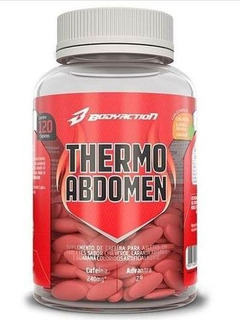 Thermo Abdomen 120 Caps - Bodyaction Termogenico Queimador