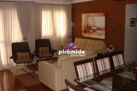 Apartamento Com 4 Dormitórios À Venda, 124 M² Por R$ 600.000 - Jardim Satélite - São José Dos Campos/sp - Ap9882