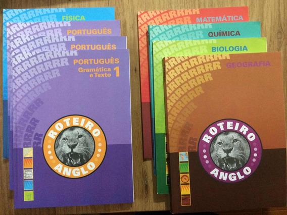 Livros Vestibulares Anglo - Roteiro De Estudos