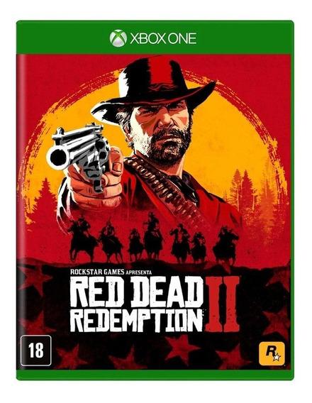 Red Dead Redemption 2 Xbox One Midia Fisica - Novo - Lacrado