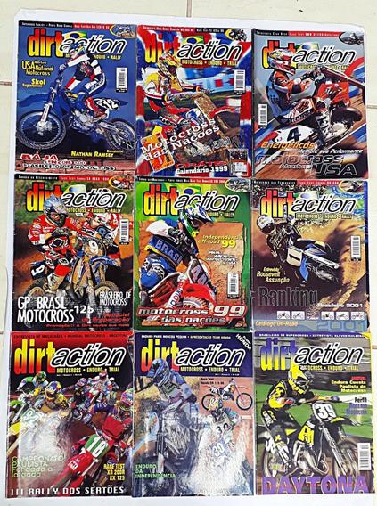 Dirtaction Motocross Enduro, Trial 9 Revista Frete Grátis