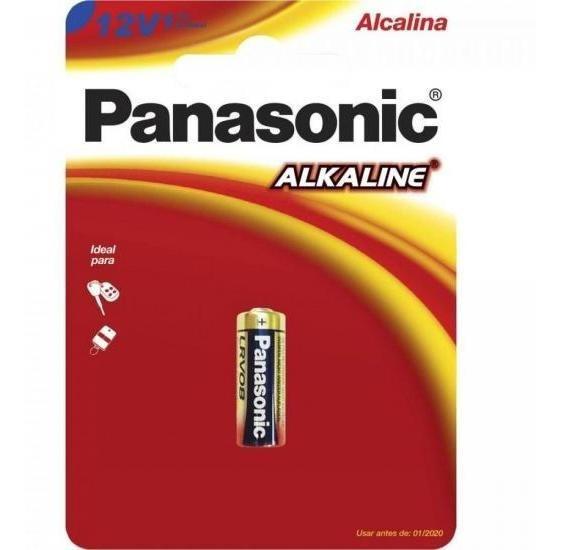 Bateria 12v Alcalina Lrv08 Panasonic - Cxm / 60