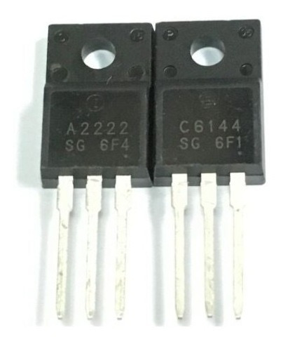 Transistores A2222 C6144 (lote Com 100)