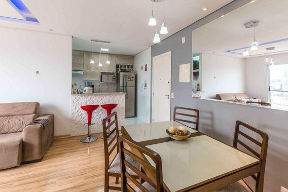 Apartamento Com 2 Dorms, Vila Mogilar, Mogi Das Cruzes - R$ 318.000,00, 65m² - Codigo: 746 - V746