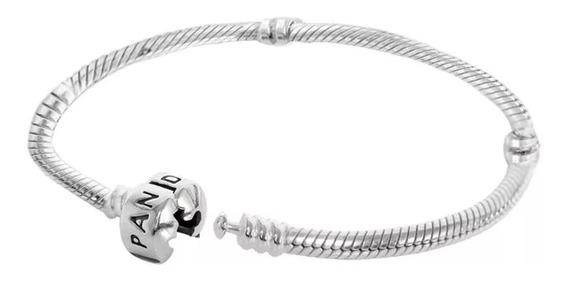 Bracelete/ Pulseira Inspiração Pandora Prata