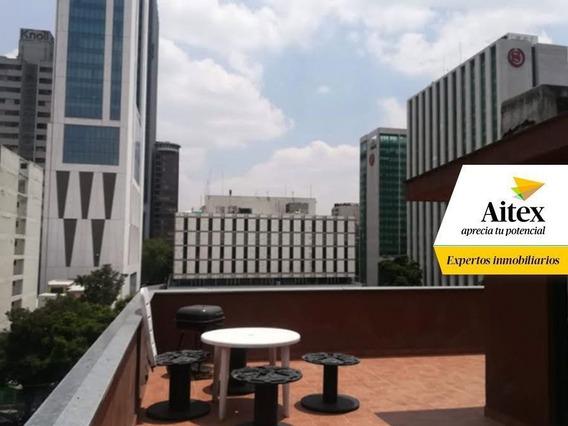 Departamento En Renta Amueblado, En La Colonia Cuauhtémoc.