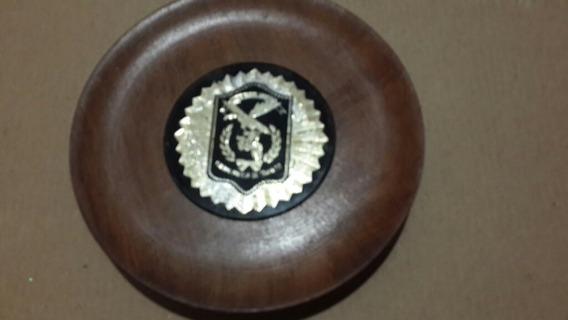 Plato Con Escudo Policía Federal Cuerpo Policía De Tránsito
