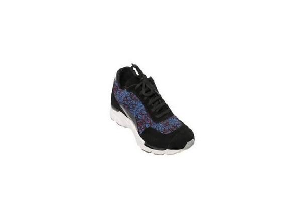 Zapato Mujer Zapatilla Urbana Natacha Tela Búlgara Azul#2001