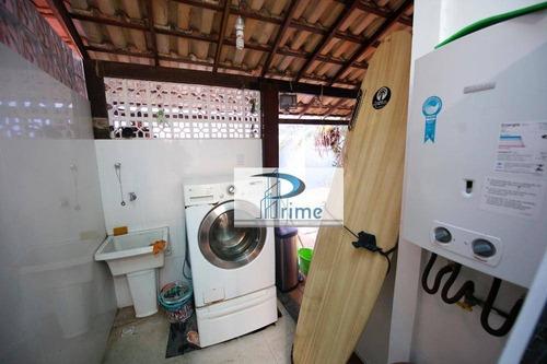 Casa Com 4 Dormitórios À Venda, 78 M² Por R$ 685.000,00 - Badu - Niterói/rj - Ca0591