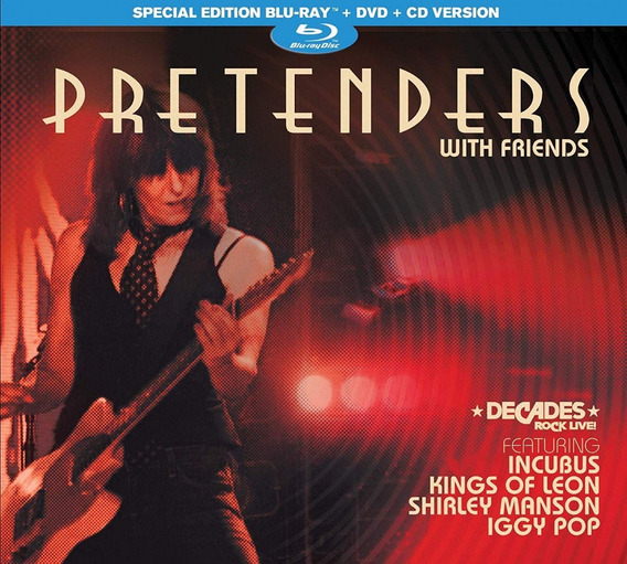 Pretenders - With Friends - Digipack Blu Ray + Dvd + Cd