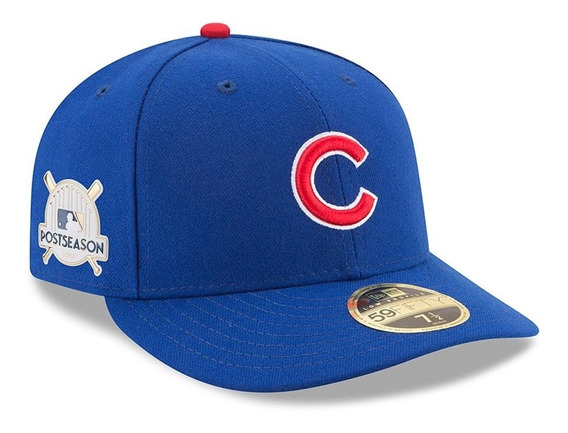 Gorra New Era Cachorros Chicago Cubs 2017 59fifty Low Profil