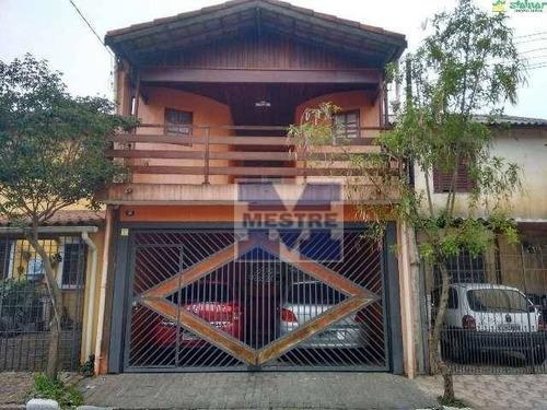 Sobrado Com 03 Dormitórios , Sendo 01 Suíte À Venda R$ 470.000,00- Vila Itapegica - Guarulhos/sp - So0352