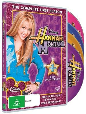 Hannah Montana 1ª A 4ª Temporada + Filme Dvd Box Hd