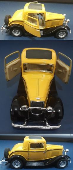 Miniatura Clássica Ford 3 Window Coupe 32 S/ Embalagem Usado