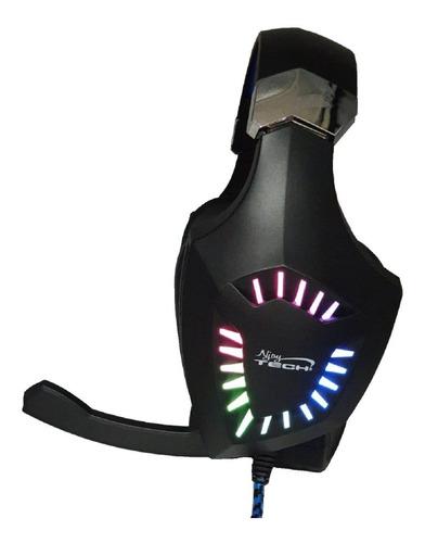 Audifono Gamer C/mic Rgb Usb V7.1 Ps4 Switch Pc Njoytech Pro