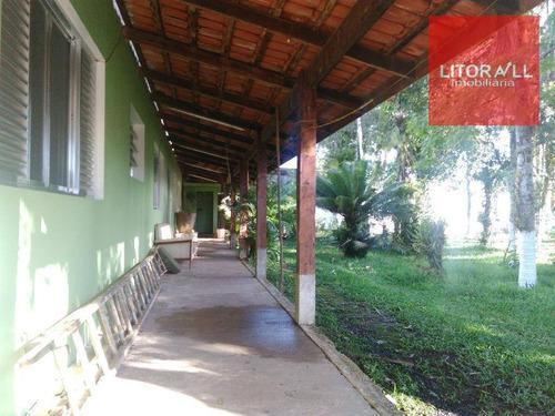 Imagem 1 de 29 de Chácara Residencial À Venda, Chácaras Itamar, Itanhaém. - Ch0026