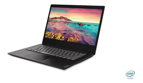Imagen 1 de 4 de Portátil Lenovo S145-14iil Ci5 4gb 1tb W10 14  Negro