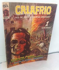 Calafrio Nº1 C/ Assinaturas De Zalla Colonnese Zé Do Caixão