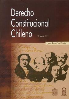 Derecho Constitucional Chileno Tomo Iii. Envio Gratis