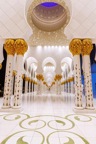 Fundo Fotográfico Tecido Sublimado Palácio Árabe 1,6m X 2,4m