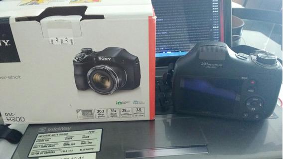 Câmera Sony Cyber Shot Dsc - 300 20,1 Mega Pxl C/ Carrgador