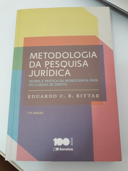 Livro Metodologia Da Pesquisa Jurídica