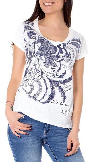Oferta Blusa Shirt Desigual Cheyennes Para Dama Envio Gratis